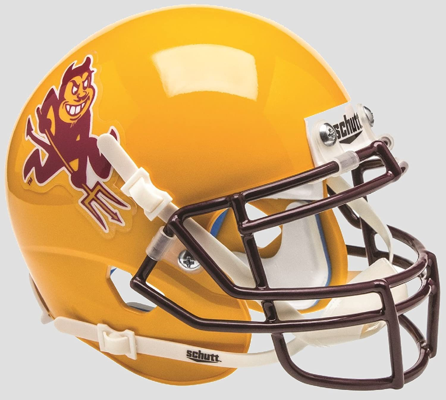 ARIZONA STATE SUN DEVILS NCAA Schutt XP Authentic MINI Football Helmet ASU (SPARKY)