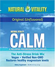 Natural Vitality Calm, The Anti-Stress Dietary Supplement Powder, Original