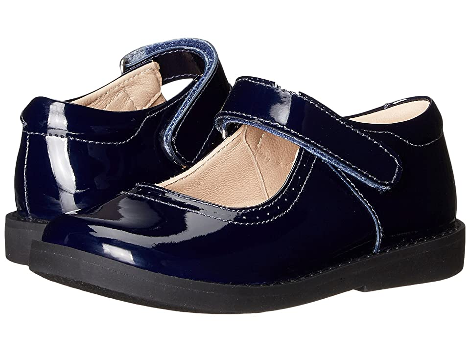 Elephantito Patent Mary Jane (Toddler/Little Kid) (Blue) Girls Shoes