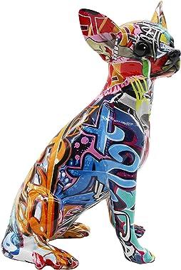 "Interior Illusions Plus Street Art Chihuahua 10.25"" Tall Home Décor, Multi-Color"