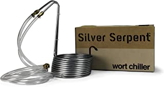 stainless or copper wort chiller