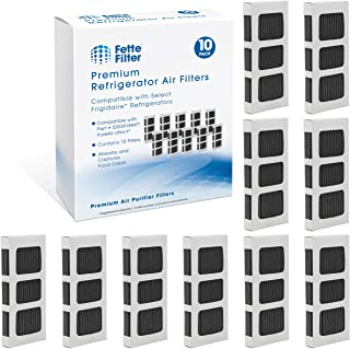 Fette Filter - Activated Carbon Refrigerator Air Filter Compatible with Paultra2 Ultra 2 Pure Air 2 Frigidaire and Electro...