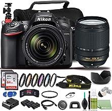 Nikon D7200 DSLR Camera - Bundle - with 18-140mm Lens (1555) USA Model + Color 6pcs Filter Set + 2X EN-EL15 Battery + 2X S...