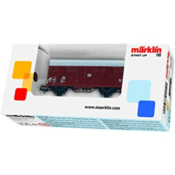Märklin H0 4410 2achsiger gedeckter Güterwagen der DB in OVP