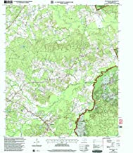 YellowMaps Shelbyville TX topo map, 1:24000 Scale, 7.5 X 7.5 Minute, Historical, 2003, Updated 2004, 26.9 x 23.1 in