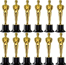 Oscar Awards and Hollywood Parties Bulk Pack of 12 Winners Neliblu Star Gold Award Trophies 4.5 Gold Star Trophy for Awards