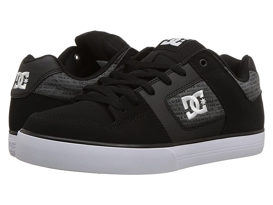 DC Pure SE (Black/Heather Grey) Men