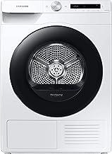 Samsung DV5000T DV8GT5220AW/S2 Wärmepumpentrockner 8 kg/A / Simple Control mit WiFi und Auto Cycle Link/Digital Inverter Motor mit 10 Jahren Garantie/Knitterschutz und Komfort 2-in-1 Filter Weiß