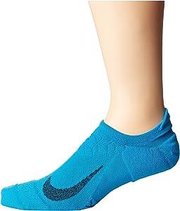 Elite Cushion No-Show Tab Running Socks