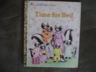 Time for bed (A Little golden book)