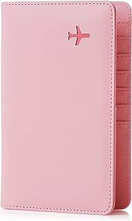 Travel Design all in one Travel Wallet - 2 Passport Holder Organizer - Gift box (Flamingo)
