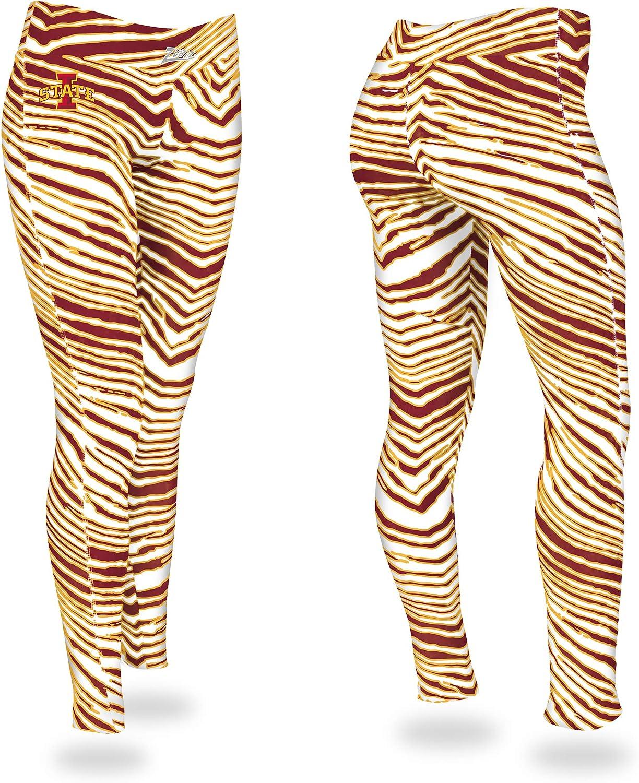 Zubaz Women's セールSALE%OFF Legging スピード対応 全国送料無料 Zebra