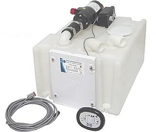 Jabsco 38110-0092 Marine Waste 10 Gallon Holding Tank and Pump Management System, 12 Volt, 16 Amp