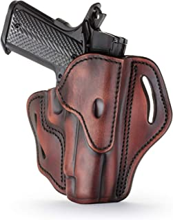 1791 GUNLEATHER Holster for Sig Sauer P226, P220, P229 Right Hand OWB Leather Gun Holster for Belts Also fits 1911 with Rails, HK VP9, Beretta 92FS -(BH2.3)