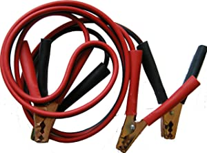 Simply SM200 Zip-bag Motorist Jump Leads Booster Cable 200AMP 2 5M Long Anti-tangle leads Oil acid and heat resistant PVC Fully Insulated Metal Clips and Operating Instructions