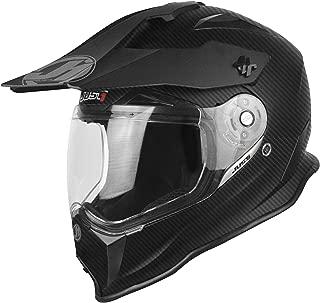 Just 1 J14 Carbon Helmet Matte Black (Black, Large)