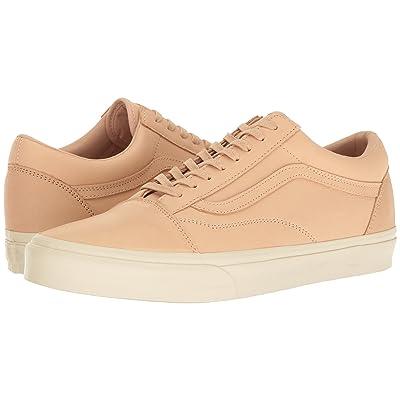 Vans Old Skool DX ((Veggie Tan Leather) Tan) Skate Shoes
