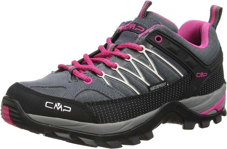 (3.5 UK, Grey (Greyfuxiaice))  CMP Women's Rigel Low Rise Hiking shoes