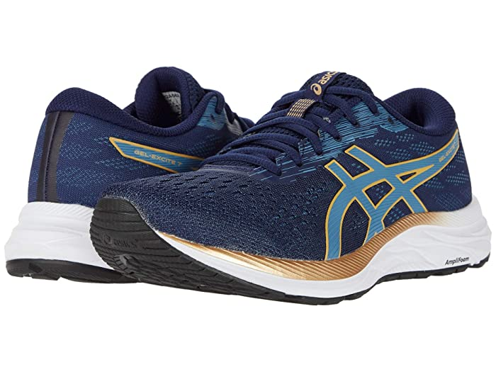 ASICS  GEL-Excite 7 (Peacoat/Champagne) Womens Running Shoes