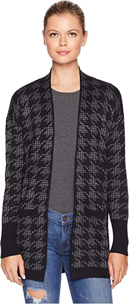Reality Check Open Cardigan with Two-Pockets