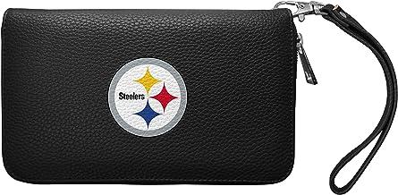 NFL Zip Organizer Wallet Pebble