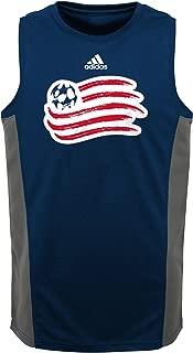 MLS by Outerstuff Boys' Fan Gear Tank, Collegiate Navy, Kids Small(4)