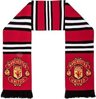 Manchester United FC Authentic EPL Stripe Scarf - UK Import
