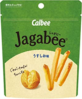 カルビー スタンドパウチ Jagabee うすしお味 40g ×12袋