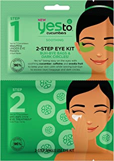 Yes To Cucumbers 2-Step Eye Kit, 1 Count