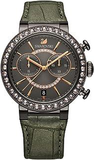Crystal Citra Sphere Gunmetal Tone Watch