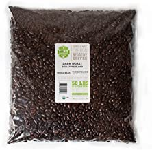 Tiny Footprint Coffee - Organic Signature Blend Dark Roast | Whole Bean Coffee | USDA Organic | Carbon Negative | 3 Pound