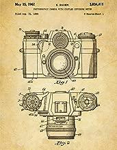 Antique Camera Patent Wall Art Print - one (11x14) Unframed - wall art decor for photographer