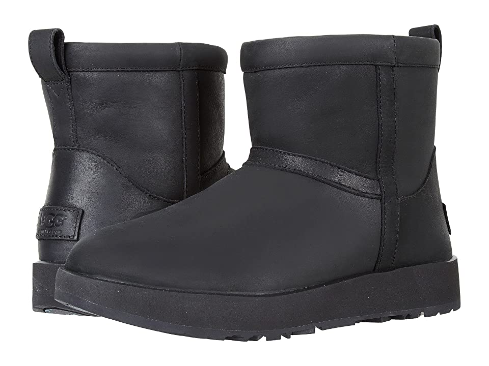 UGG Classic Mini L Waterproof (Black) Women