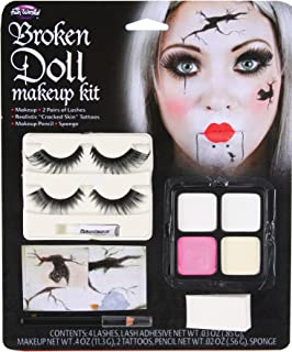 Best cracked doll makeup Reviews