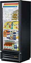 True GDM-12-HC-LD Single Swing Glass Door Merchandiser Refrigerator with Hydrocarbon Refrigerant and LED Lighting, Holds 33 Degree F to 38 Degree F, 62.375
