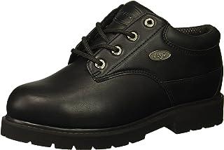 حذاء رجالي أنيق من Lugz بتصميم Drifter Lo Steel Toe من الفولاذ، أسود، 10. 5 D US
