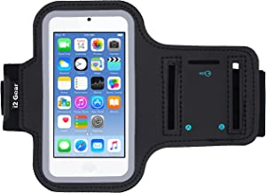 Sponsored Ad - i2 Gear Running Exercise Armband for iPod Touch 7th, 6th and 5th Generation Devices with Reflective Border ...