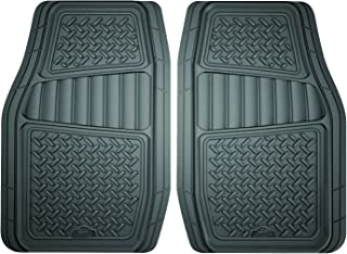 Custom Accessories Armor All 78831 2-Piece Grey All Season Truck/SUV Rubber Floor Mat