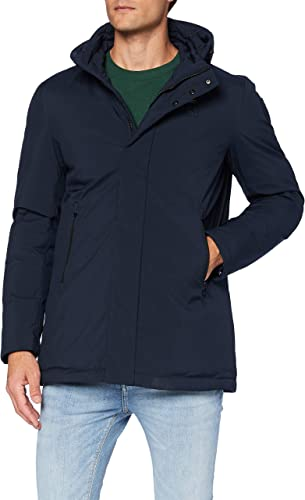 Impermeabile/trench lungo imbottito piuma cappotto uomo blauer 20WBLUK03202 005480