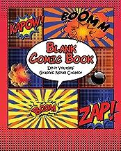 Blank Comic Book: Do it Yourself Graphic Novel Creator