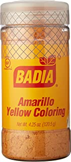 Badia Yellow Coloring/Amarillo (specialty) 4.25 oz Pack of 3