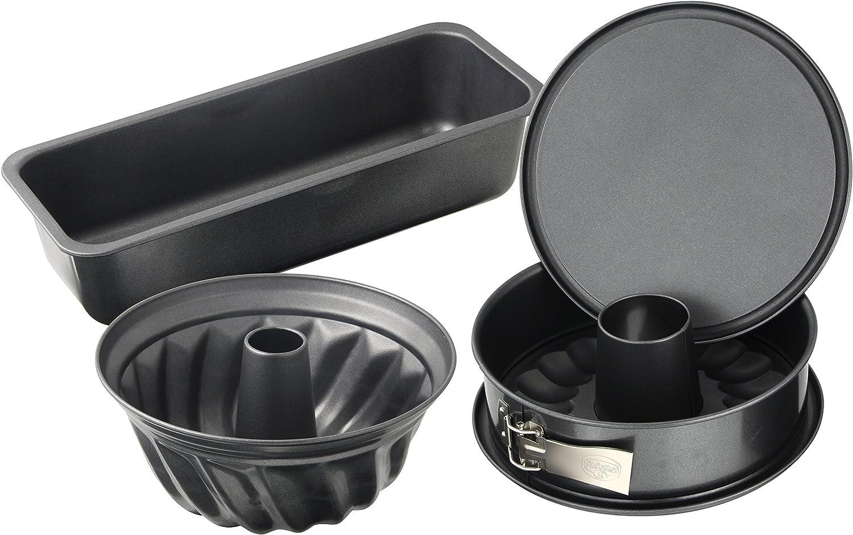 Dr.Oetker Back-Harmonie Baking Tin Set Complete Free Shipping of Ranking TOP19 Enamel 4 Black