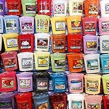 يانكي كاندل فوتيس - حقيبة حمل مكونة من 10 شموع نذور متنوعة (10 قيراط من العطور الطازجة المختلطة)