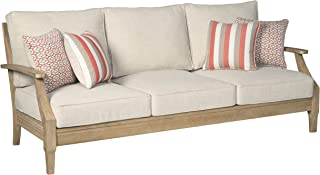 Signature Design by Ashley P801-838 Clare View Sofa with Cushion, Beige