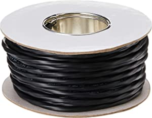 Monoprice 14 AWG 4 Conductor CMP-Rated Speaker Wire / Cable - 100 Feet UL Plenum Rated, 100% Pure Bare Copper With Color Coded Conductors - Nimbus Series