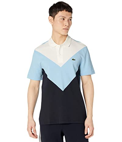 Lacoste Short Sleeve Color-Blocked Polo Regular