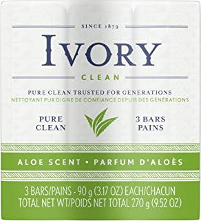 Simply Ivory Aloe Bath Bar by Ivory, 3 Count