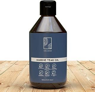 CURA LIGNUM Aceite de Teca para Madera - Aceite para Madera con Aceite de Linaza para Madera y Aceite de Tung - Aceite de ...