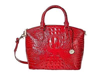 Brahmin Melbourne Duxbury Satchel (Ember) Satchel Handbags