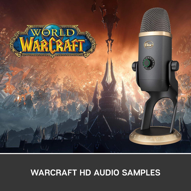 28. Blue Yeti X World of Warcraft Edition Professional Podcast, Gaming, Streaming USB Mic